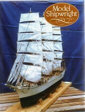 Model Shipwright No 129  (Conway 2005 1st) with Modellers Draught plan