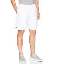 Lacoste NWT Men's Novak Tech Woven Short, White, Size 3XL $75