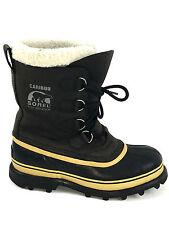 SOREL NL1005-011 Caribou Boot Black Womens Size 9 Usa. (Men's Size 7 Usa.)