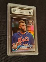 GEM MINT 10 💥 2018 Amed Rosario Topps Chrome Variation Refractor Rookie SP psa?