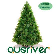 6FT 1.8M Green Christmas Xmas Tree Bushy Mixed Leaves Party Gift Venus VNS180