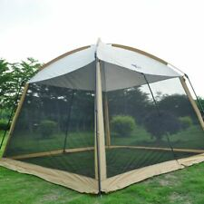 Camping Large Tent Sun Shelter 5-8 Person Mosquito Net Breathable Shade UV