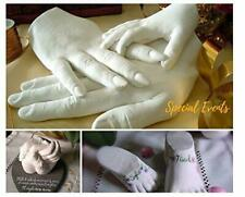 3D Hand Casting Kit Baby Adult Family Alginate Footprint Moulding Plaster Gift