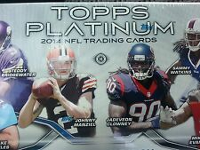 2014 Topps Platinum Football  U-Pick 10 to complete your set