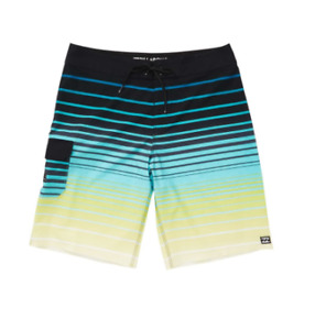 Billabong All Day Pro Board Shorts Quick-Dry Blue Size 22 4175