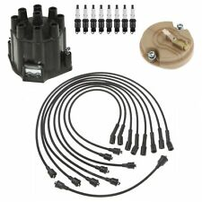 ACDelco Ignition Kit Distributor Rotor Cap Wire Spark Plugs For Chevelle 7.4L V8