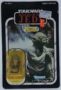 Star Wars ROTJ Yoda 1983 action figure