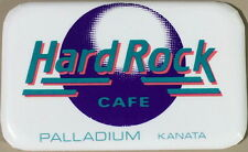 Hard Rock Cafe KANATA PALLADIUM 1990s Pre-Unification HRC LOGO Rectangle MAGNET
