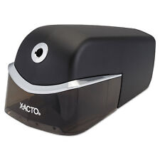 X-ACTO Quiet Electric Pencil Sharpener, Black/Silver 1750LMR
