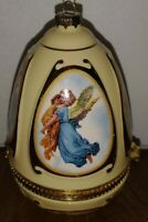 "Valerie Parr Hill Christmas Holiday Ornament Music Box Vintage 4"" Tall"