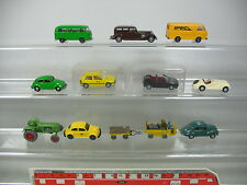 ap424-1 #12 x Wiking H0 Hobbyist Model: VW Golf DBP + Horch 850 + Deutz + DKW +
