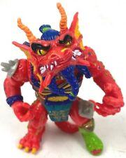 Vintage 1992 Playmates Teenage Mutant Ninja Turtles TMNT Red Hothead Dragon