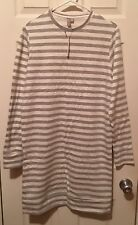 Asos Tall Striped Long Sleeve Casual Dress Size US2