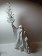 Vintage Department 56 Santa Father Christmas1989 metal Christmas tree & toy sack