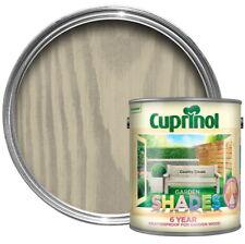 Cuprinol 6Y Garden Shades Paint Wood Furniture Sheds Fences - 2.5L Country Cream