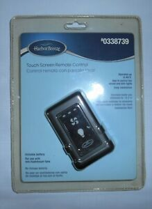 Harbor Breeze Touch Screen Remote Control 0338739 New In Package Model RC1-108L