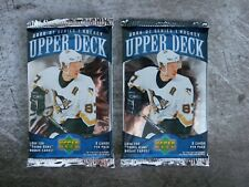 2 (two) Packs of 2006-07 Upper Deck Series 1 Retail Kessel Letang Kopitar Weber