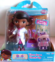New Disney  Doc McStuffins  Time for check-up Playset
