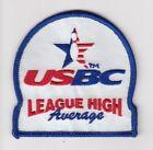 Bowling USBC League HIGH Average Patch