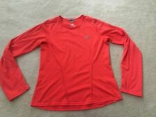 Womens medium ADIDAS Formotion Climacool orange reflective gray runners top