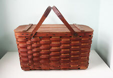 Antique Ash Splint  Basket