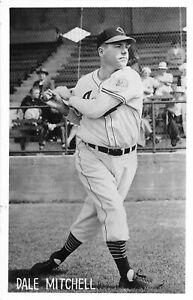 H43/ Sports Postcard RPPC c1910 Dale Mitchell Baseball Player Indians 14