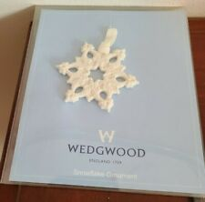 Wedgewood Snowflake Christmas Ornament