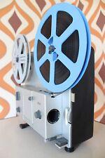 Braun FP3 Super 8 8mm Cinta de película silenciosa Cine Película Vinilo Retro Proyector 1960S