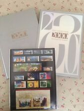 Collection of 2000 Australian Post Year Book Album with Stamps - Deluxe Edition