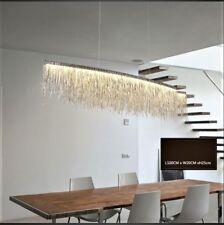 100cm Modern Tassel Chain Dining Living Room Hotel Cord Pendant Chandelier