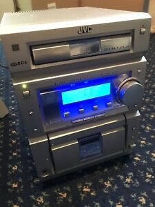 JVC micro component system CA UXP55 radio cd & cassette player