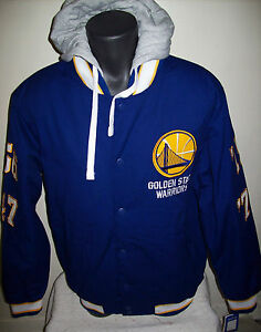 GOLDEN STATE WARRIORS 4 TIME WORLD SERIES CHAMPIONSHIP Cotton Jacket M L XL 2X