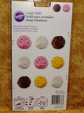 Roses in Bloom,Chocolate mold, Truffle, Wilton,Clear Plastic,Bonbon,Flowers,