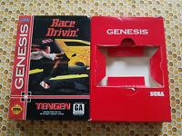 Race Drivin' - Authentic - Sega Genesis - Case / Box Only!