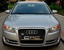 Scheinwerferblenden für Audi A4 B7 Böser Blick Scheinwerfer eyebrows Blenden ABS