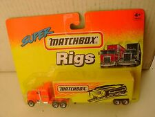1993 MATCHBOX SUPER RIGS GET IN THE FAST LANE! KENWORTH AERODYNE TRUCK & TRAILER
