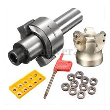 C3/4 FMB22 Arbor + EMR 5R 50-22 Face Mill Cutter + 10pcs RDMT1003 Carbide Insert