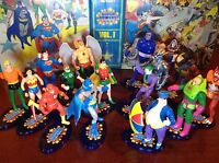 SUPER POWERS STANDS Lot of 10- fits Kenner 80s action figures PLS READ CAREFULLY
