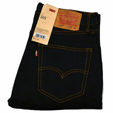Levis 505 Jeans Straight Fit Levi's Denim Mens Pants Bottoms Colored All Sizes