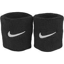 Sweat Wrist Band Set of 2 Pcs. - Color : Black