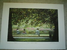 """HAROLD ALTMAN Original Lithograph """"Three Seated People"""" - Signed & Numbered"""