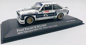 Minichamps 1/43 Ford Escort II RS 1800 DRM 1976 400768432