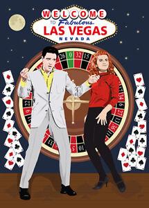 Elvis Presley - Viva Las Vegas - Original (signed) art print - Jarod Art