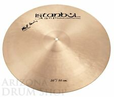 "Istanbul Agop 21"" Mel Lewis Ride Cymbal (w/Rivets) 2,136 grams - NEW (ML21)"