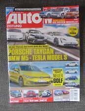 Auto Zeitung 5/2020 Porsche Taycan Honda e BMW M5 TeslaS MINI SE HYUNDAI wie Neu