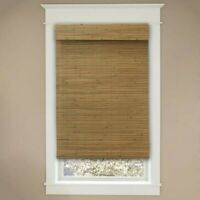 Honey-Tuscany Light-Filtering UV Protection Bamboo Shades 22in x 72in