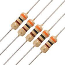 100 x 1/4W 250V 300 ohm 5% Axial Carbon Film Resistors LW