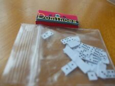 SEALED DOMINOES BOX AND DOMINOES FORA DOLLS HOUSE