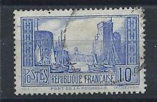 France N°261b Obl (FU) 1929/31 - Port de la Rochelle