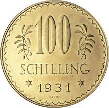 Österreich 100 Schilling geprägt 1931 bis 1938 Erste Republik Gold Anlagemünze
